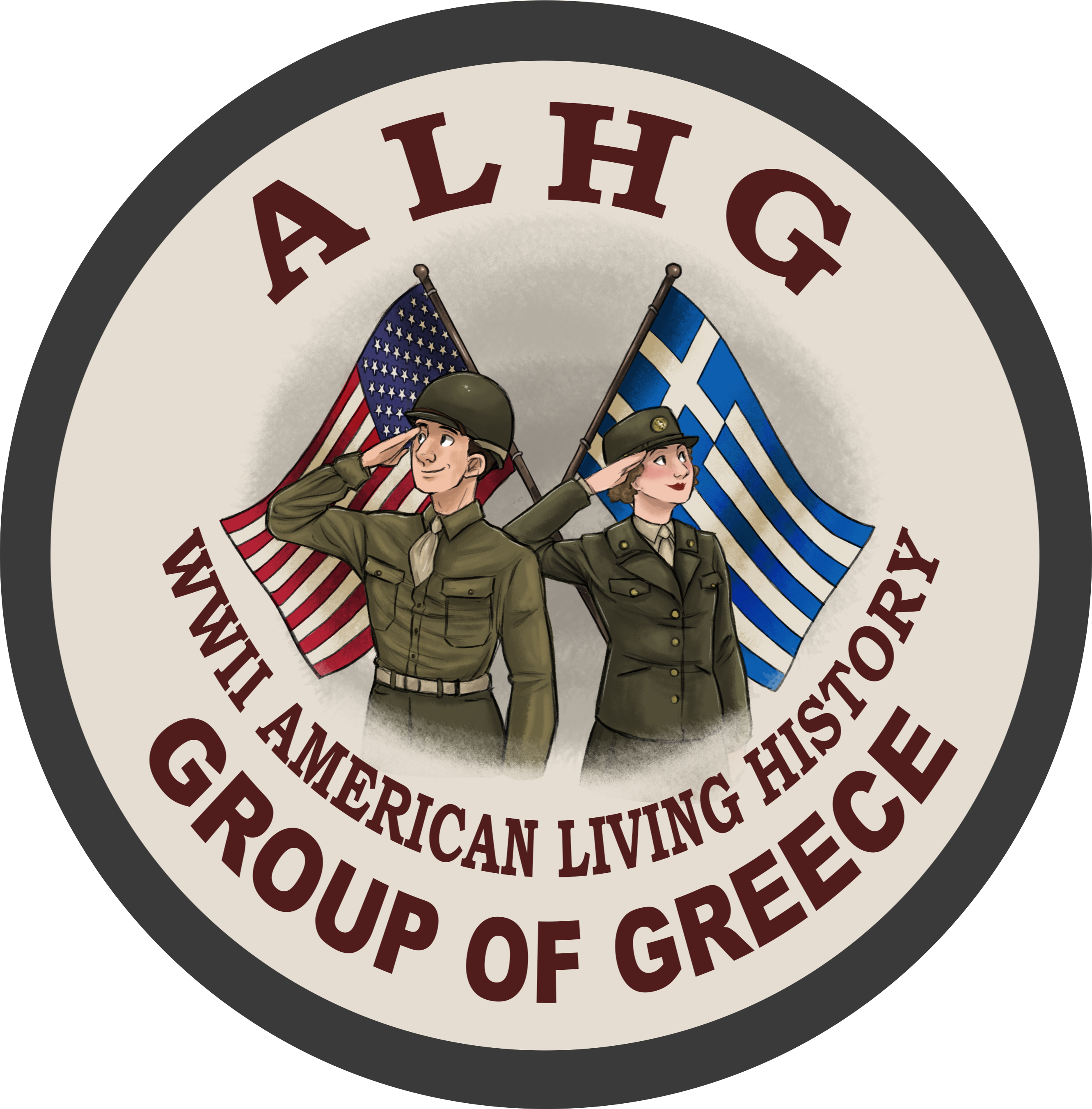 WWII American Living History Group of Greece